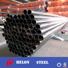 china manufacturer welded steel pipe / steel tube gals