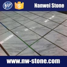Factory price white volakas white marble tile