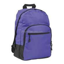 Polyester korean style high school backpack