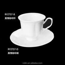 Wholesale ceramic porcelain & stoneware coffee mug cup,cappuccino/espresso/cofee/tea drinking cups set,cafe cup and saucer set