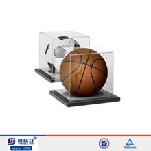 Wholesale New Material basketball display stand/basketball display rack/acrylic basketball display case