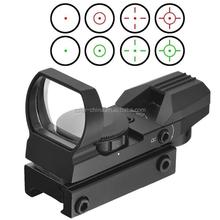 Red & Green laser sight Dot Reflex Scope for gun