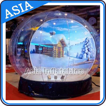 New Style Transparent Dome Tent, Inflatable Bubble Tent, Inflatable Snow Globe with Tunnel for Leisure/ Advertising/ Holiday