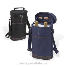 2014 wine Tote cooler bag 2 Bottle Wine Carrier