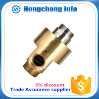 1.5 inch bsp male thread duoflow copper rotary joint