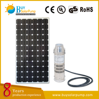 china factory directly sell high head high flow solar water pump/price solar water pumps