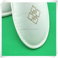 luxury canvas slipper for beach walking custom stlye slipper
