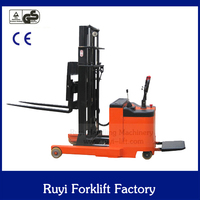 warehouse and super-market pallet use electric fork lift