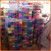 wholesale rainbow color silicone band loom kits/ DIY rainbow rubber band bracelet /colorful latex free loom bands