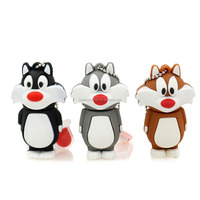 Flash drive 4G 8G 16G 32G flash usb Cute Tom Cat pendrive new hot Model flash card Personalized Gifts usb stick Free shipping