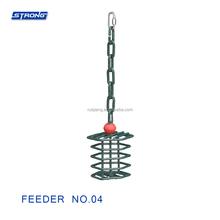 Feeder No.04 (Round Walnut Basket)