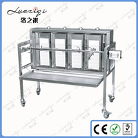 201 SS Portable Indoor Rotisserie Motor Electric Gas BBQ Grill