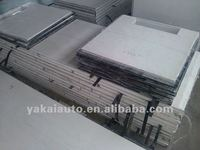 FRP, honeycomb sandwich panel for insulated truck body