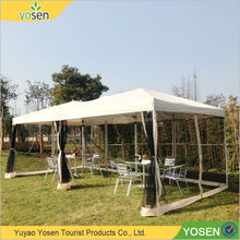 Customized large outdoor commercial pop up tents / gazebo tent 3x4.5m