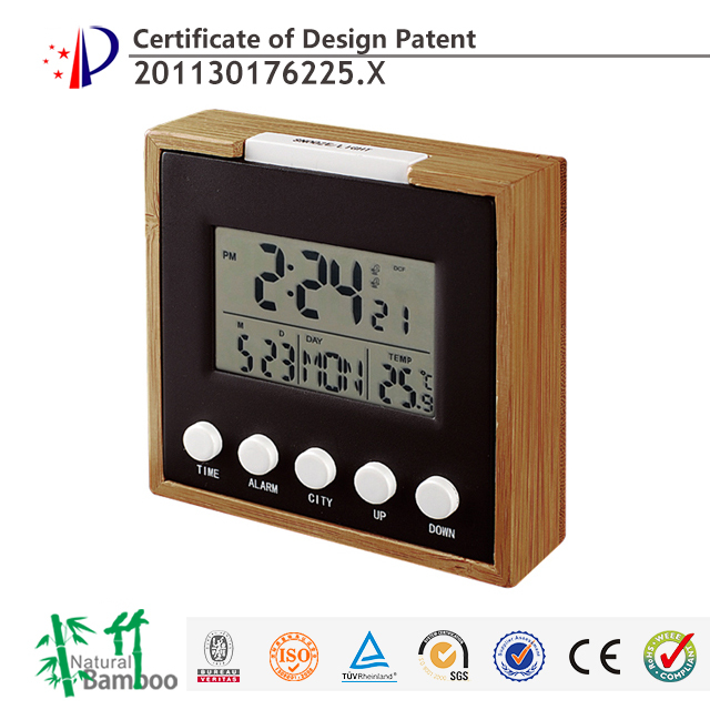 hairong 2015 digital alarm clock radio controlled clock buy radio controlled clock alarm clock. Black Bedroom Furniture Sets. Home Design Ideas