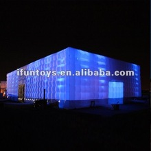 2012 lighting inflatable cube tent