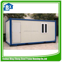 prebuilt container houses with bathroom for sale