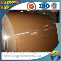 PPGI Coils Color Coated Steel Coil, RAL9002 White Prepainted Galvanized Steel Coil, Z275 Metal Roofing Sheets Building Materials