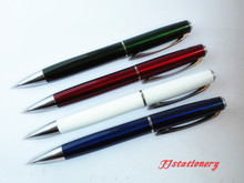 High quality office stationery promotional gift ball pen, metal twistl ball pen