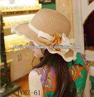 Attractive straw cowboy cycling hat and cap wholesale