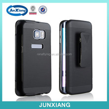 2015 new products shell holster case for samsung s6 edge ,fit for USA market