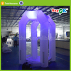 portable outdoor led inflatable money machine booth