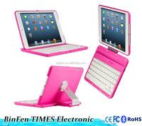 for iPad Mini 360 degree rotating stand clamshell wireless bluetooth keyboard