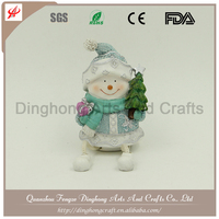 Lovely Small Santa Claus,Plastic Gifts Maker Lighted Outdoor Plastic Santa Claus
