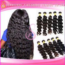 Perfect quality different length and texture human hair extension virgin brazilian ocean tropic loose hair
