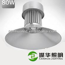 Fashionable customized 80W led industrial high bay light, basketball court light led highbay 80Watts