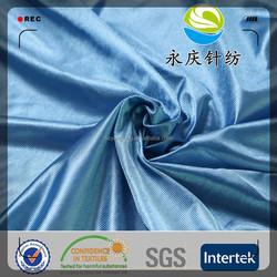 huzhou manufacturer polyester tricot dazzle sportswear fabric