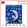 Custom moom decal stickers for windows christmas with glitter