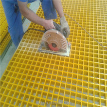 Drainage gutter with fiberglass reinforced grating cover from professional manufacture in China