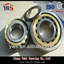 Single Row Chrome Steel C3 Clearance NU205ECP Cylindrical Roller Bearing used on Electric Tricycle