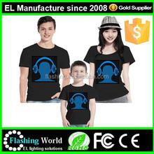 High quality Led tshirt,Led t-shirt,Led shirt,sound active tshirt