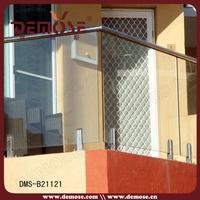 balcony glass stainless steel balustrade kits