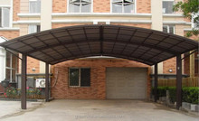 M-connection Aluminium Double Carport two car parking