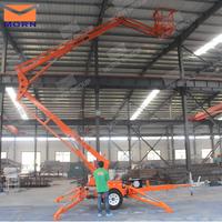 CE approved 14m travel arm lift platform for sale