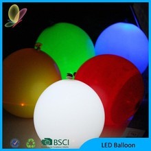 2015 Various Size Led Balloon Interior Party Decoration