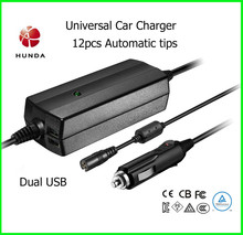 90W Universal Car Adapter for Laptops Notebook Phone Pad
