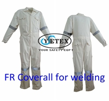 HOT SALE High performance fireproof overalls EN471