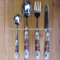German flatware/Kinds of flatwares and uses/Used restaurant flatware