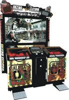 Quality control China made simulator shooting game machine/ 55 inch Razing Storm video game machine