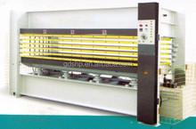 5 layers wooden door hot press machine