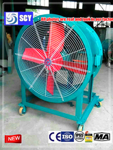 Good price FRP material anti-corrosion axial ventilator axial fan for install in wall/Exported to Europe/Russia/Iran