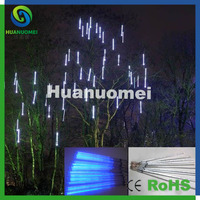 3D Falling meteor led decoration string lights IP65 waterproof led rain tube Christmas Gardent light