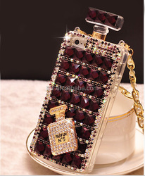 Hot selling phone case factory Soft perfume bottle phone case for iphone 6 6+ and Samsung