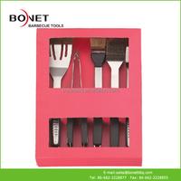 QPB0125 Promotion Stainless Steel BBQ Tool In Box