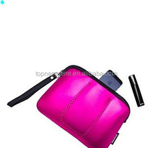 2015 Custom Simple Wool Felt pink Key Bag Shopping Hand Bag for woman Fashion Felt messenger bags