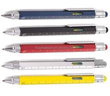 tech touch pen handy screwdriver ruler sprit level plastic multitool touch pen